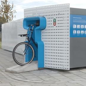 Bicicletas en la ciudad: recipiente urbano