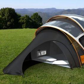 Orange: camping con energía solar