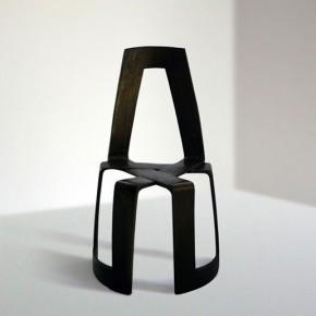 Infinity Chair: maderas moldeadas en mobiliario