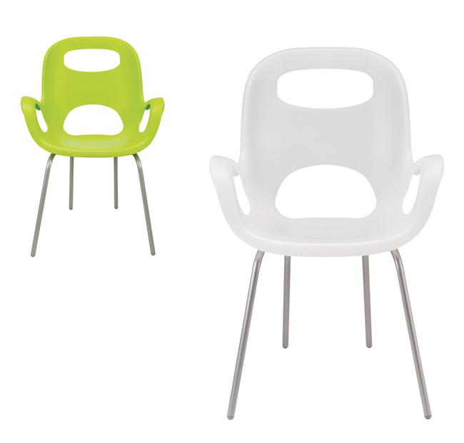 OH Chair. Diseño: Karim Rashid. 1999. UMBRA
