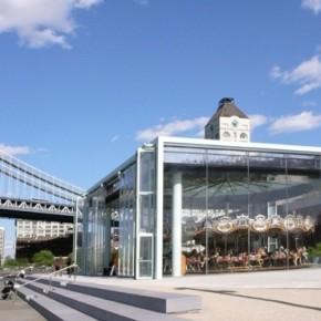 Jane's Carousel: un tiovivo dentro de una caja de cristal diseñada por Jean Nouvel