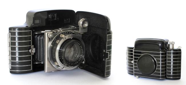 Cámara Bantam, 1936. Eastman Kodak Corporation. Diseño Walter