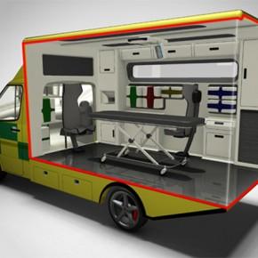 Re:Ambulance. Investigación para el rediseño de una ambulancia