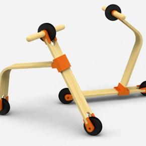SEPTIEMBRE Happy-Scooter: patineta y bicicleta para niños en una sola pieza INNO Lab
