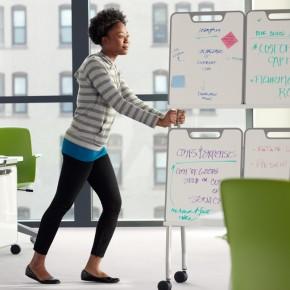 Sistema Verb: mobiliario para el aprendizaje de Steelcase