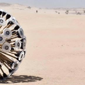 Mine Kafon: el detector de minas antipersonales de Massoud Hassani