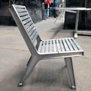 Silla AL-ma: mobiliario en aluminio para reactivar pequeñas industrias en México
