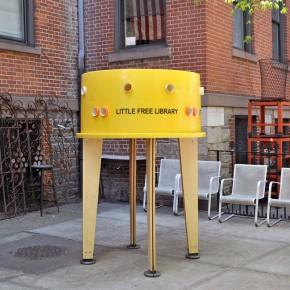 Little Free Library: intercambio de libros en la ciudad de NY