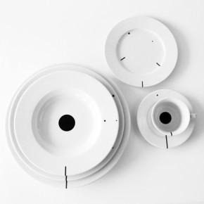 Serie C: vajilla con manual de uso para la mesa