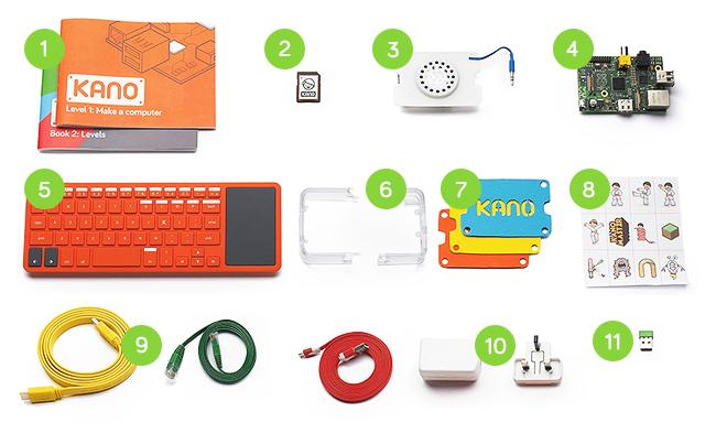 Kano: un kit para construir tu propio computador | di-