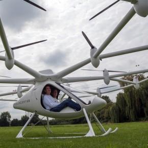 VC200: el 'multicóptero' eléctrico de bajo consumo de E-Volo