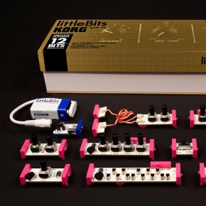 Synth Kit: el sintetizador para armar de littleBits + Korg