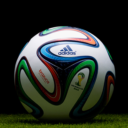 Brazuca bal n del mundial de f tbol brasil 2014 di - Granada barrero ...