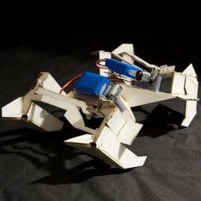 Folding Robot: Inspired by Origami