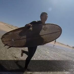 La Cardboard Surfboard: cartón corrugado, innovación en las olas