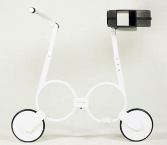 Impossible: una moto eléctrica, plegable y liviana