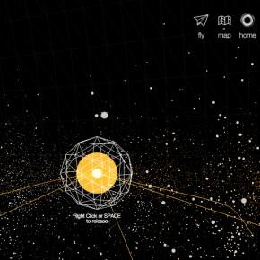 WikiGalaxy: contenidos visualizados como una galaxia