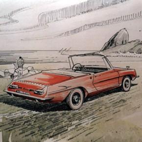 Carlos Luciardi: la historia del auto brasileño que diseñó un uruguayo
