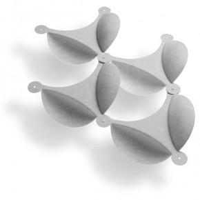 Membrane: pantalla acústica en los módulos de David Trubridge
