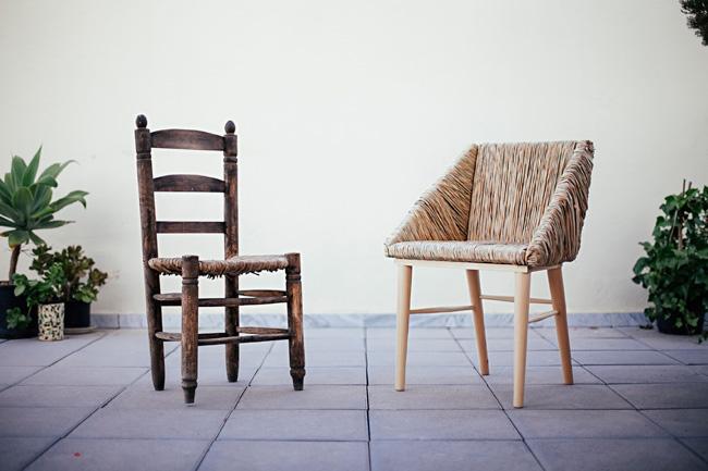 Lafresca una interpretaci n de la silla tradicional - Granada barrero ...