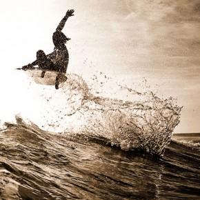 Surfing: tablas fabricadas con espuma de algas