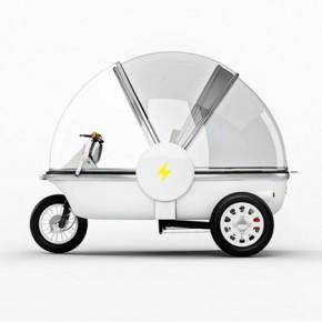 UOU: pequeño vehículo 100% eléctrico y portugués