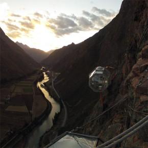 Skylodge: un hotel colgante en las montañas del Cusco en Perú