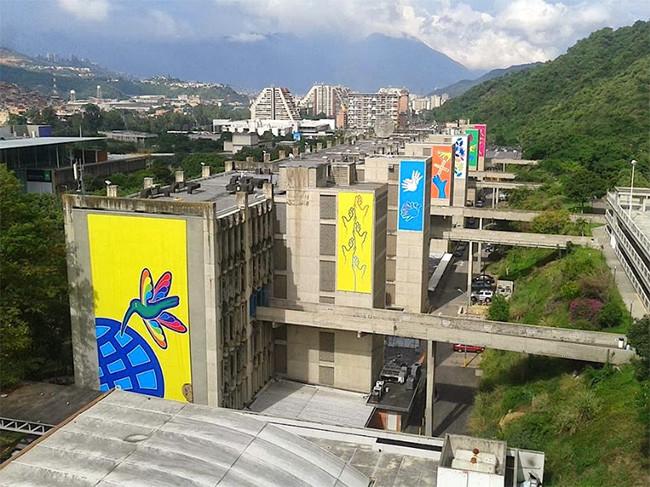 Proyecto Valores en Tránsito 2013, UCAB - Venezuela. Diseño de cartel: Santiago Pol. (imagen: Monte y Culebra)