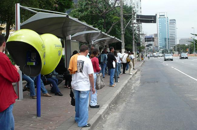 Orelhão en São Paulo. Imagen IUP.