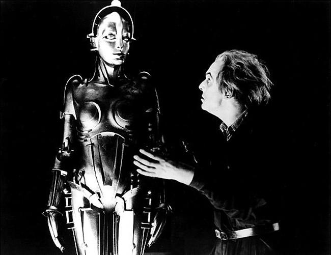 'Maria' en Metropolis, 1927. Fre Langs