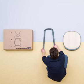 KITT: la silla desarmable de Stefan Diez para HAY