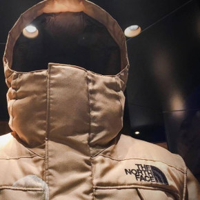 Moon Parka: tela de araña en ropa deportiva de invierno