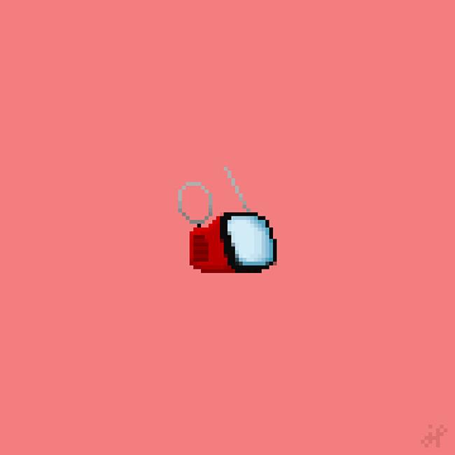 """Televisor portátil Algol, diseñado por Marco Zanuso y Richard Sapper en 1964, se crea en el estilo italiano de los años 60. Las características de su peculiar diseño con carcaza de color brillante, un asa metálica en la parte superior y la pantalla redondeada e inclinada, que Zanuso decía que era como """"un pequeño perro fiel mirando a su amo."""" Las funciones del televisor Algol se han actualizado periódicamente desde entonces y todavía está disponible para la venta en Brionvega."""