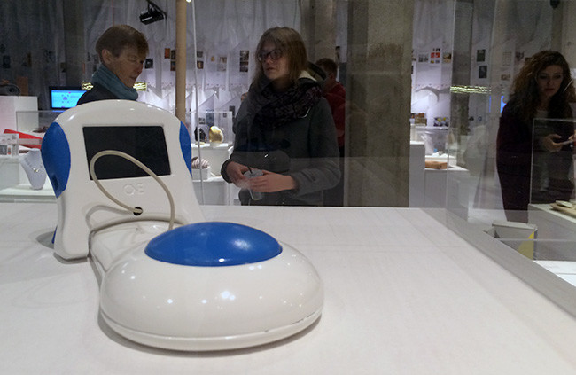 Presentación en la exposición de la Bienal Iberoamericana de Diseño, Madrid 2014.