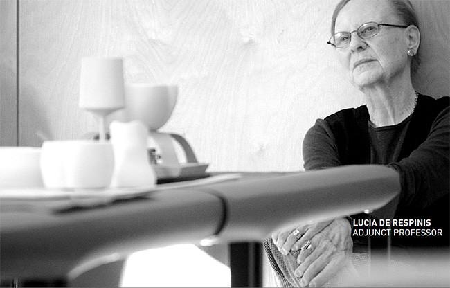 Lucia DeRespinis en el ID View Book 2012 [imagen: C. Brandon Richard]