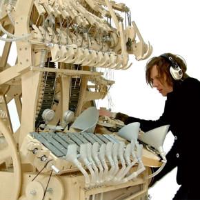 Marble Machine: el instrumento del músico sueco Martin Molin