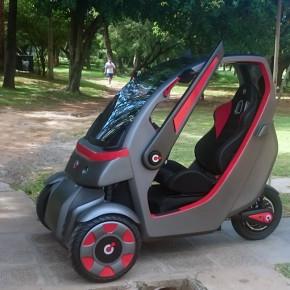 Quantum: vehículo eléctrico unipersonal diseñado en la UCA, Paraguay