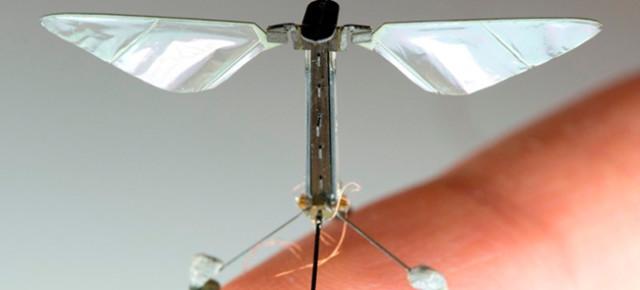 RoboBee: micro robot inspirado en el vuelo de las moscas