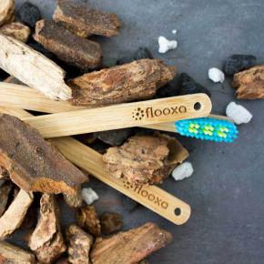 Flooxa: cepillo de dientes de bambú 100% reciclable en Puerto Rico