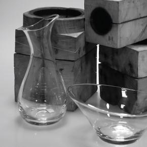 Moderne: colección de vidrio para Nambé de Alvaro Uribe Design