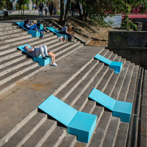 Micro Instalaciones: transformación del espacio público, No Studio en Polonia