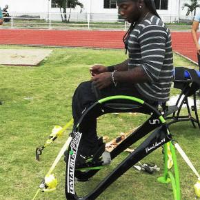 Centaurum: bronce en Paralímpicos, con silla diseñada en la UN de Colombia