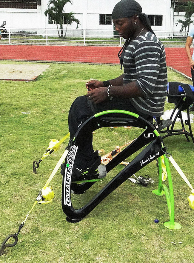 La ciencia y la tecnología suponen una revolución para deportistas con discapacidad. Foto: Dpto. Diseño Industrial, Laboratorio de Factores Humanos.