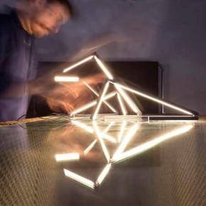 Liminal: una lámpara plegable y mínima