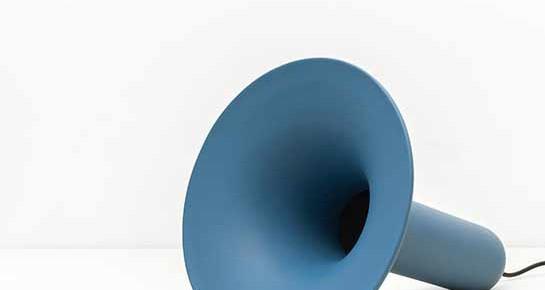 Luciano: la corneta de cerámica del diseñador italiano Paolo Cappello