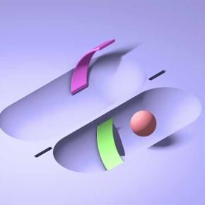 Isometric: superficies animadas del diseñador venezolano Kevin Vaisman