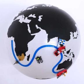 Nimuno Loop: cinta flexible convierte cualquier superficie en una base para LEGO®