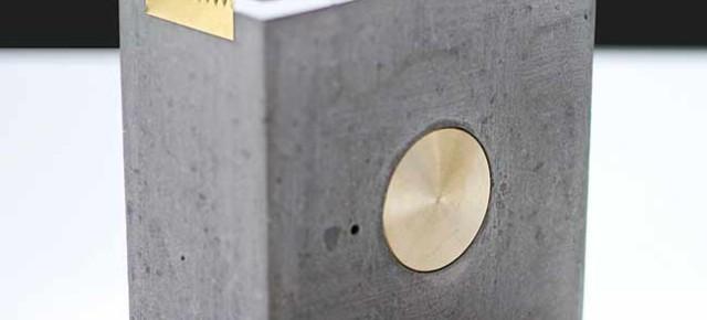ORE: brutalismo y pureza en esta colección de piezas de escritorio