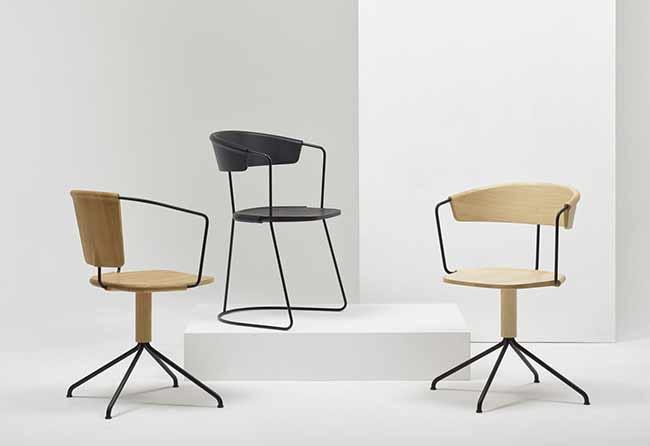 Las sillas de la Colección Uncino, 2014.