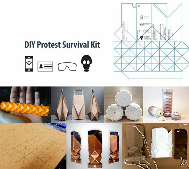 DIY Survival Kit, 2014. Theo Ferlauto. Pratt Institute